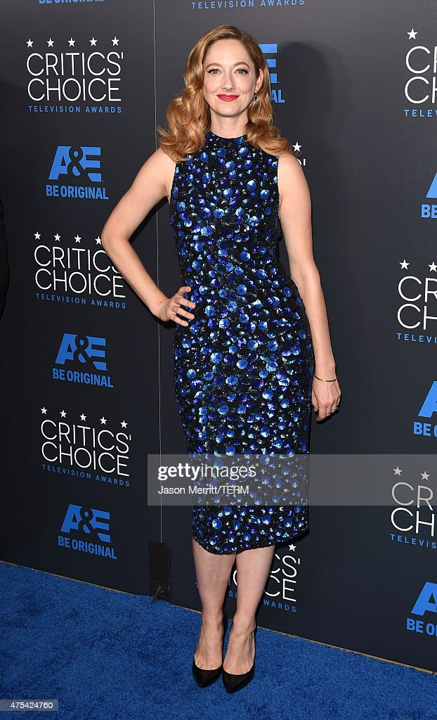 Actress <a gi-track='captionPersonalityLinkClicked' href=/galleries/search?phrase=Judy+Greer&family=editorial&specificpeople=214752 ng-click='$event.stopPropagation()'>Judy Greer</a> attends the 5th Annual Critics' Choice Television Awards at The Beverly Hilton Hotel on May 31, 2015 in Beverly Hills, California.
