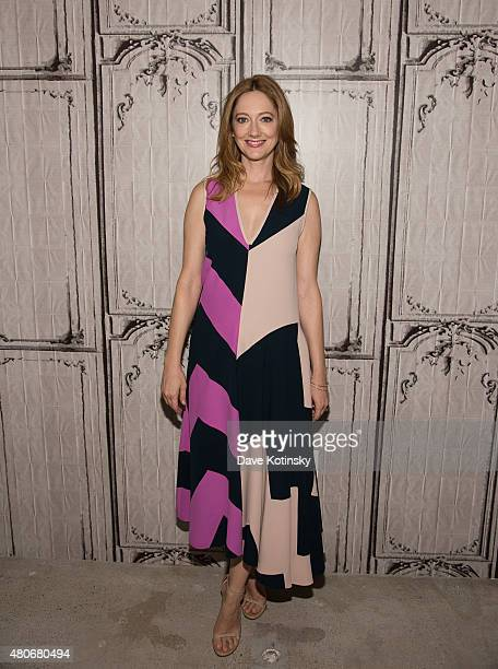Actress Judy Greer attends the AOL BUILD Speaker Series 'Married' at AOL Studios In New York on July 14 2015 in New York City