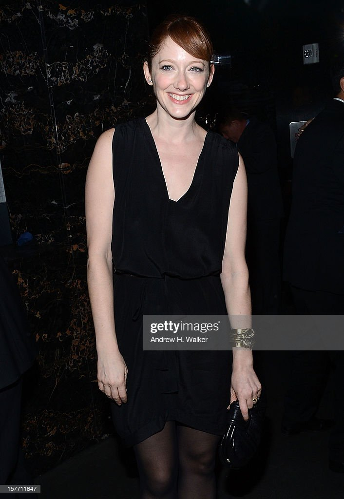 Actress <a gi-track='captionPersonalityLinkClicked' href=/galleries/search?phrase=Judy+Greer&family=editorial&specificpeople=214752 ng-click='$event.stopPropagation()'>Judy Greer</a> attends the Film District and Chrysler with The Cinema Society premiere of 'Playing For Keeps' after party at Dream Downtown on December 5, 2012 in New York City.