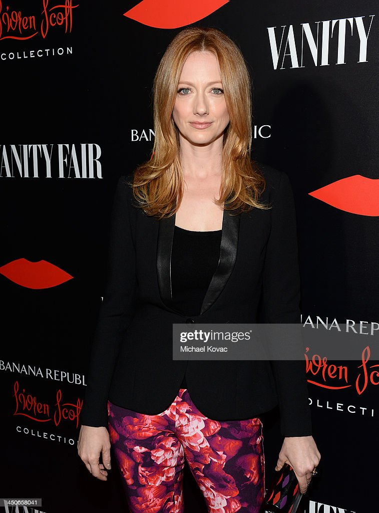 Actress Judy Greer attends the launch celebration of the Banana Republic L'Wren Scott Collection hosted by Banana Republic, L'Wren Scott and Krista Smith at Chateau Marmont on November 19, 2013 in Los Angeles, California.