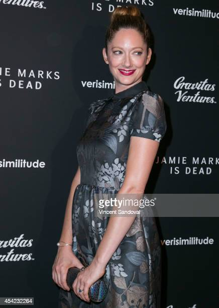 Actress Judy Greer attends the Los Angeles Premiere of 'Jamie Marks Is Dead' at Sundance Cinema on August 26 2014 in Los Angeles California