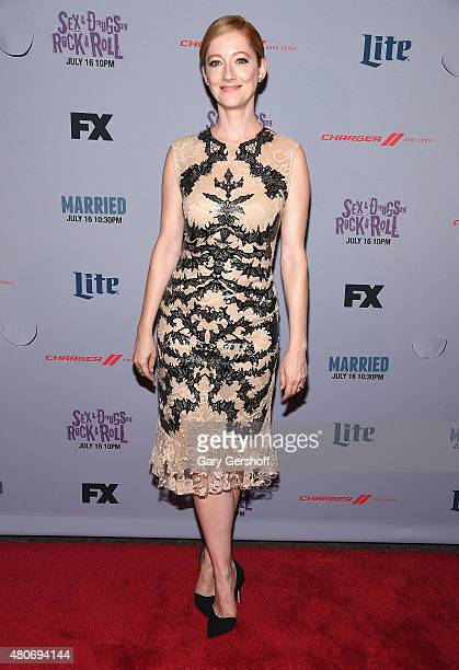 Actress Judy Greer attends the 'Married' New York Series Premiere at SVA Theater on July 14 2015 in New York City