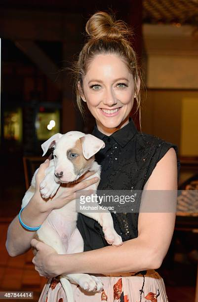 Actress Judy Greer attends the MTAC 2015 Art Festival at The Autry National Center on September 11 2015 in Los Angeles California