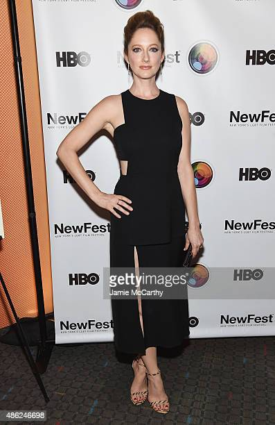 Actress Judy Greer attends the New York premiere of 'Addicted To Fresno' at SVA Theater on September 2 2015 in New York City
