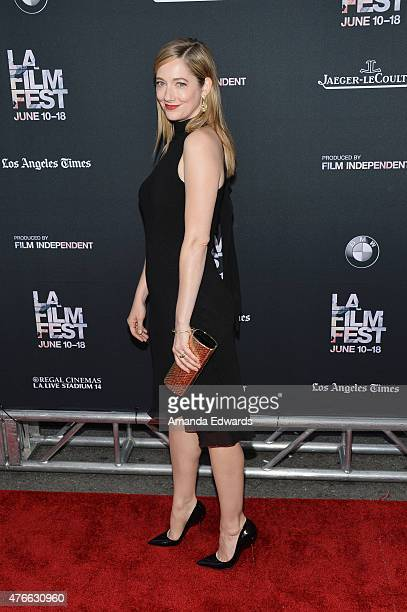 Actress Judy Greer attends the opening night premiere of 'Grandma' during the 2015 Los Angeles Film Festival at Regal Cinemas LA Live on June 10 2015...