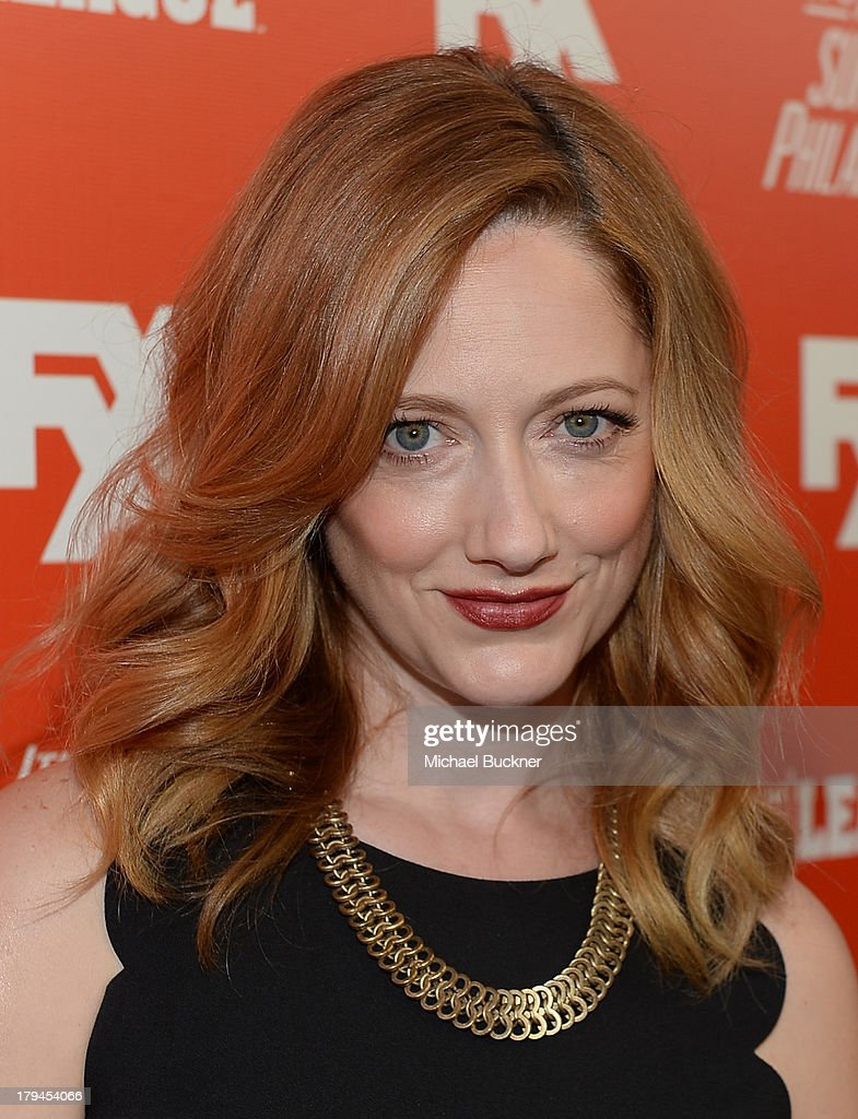 Actress <a gi-track='captionPersonalityLinkClicked' href=/galleries/search?phrase=Judy+Greer&family=editorial&specificpeople=214752 ng-click='$event.stopPropagation()'>Judy Greer</a> attends the premiere and launch party for FXX Network's 'It's Always Sunny In Philadelphia' and 'The League' at Lure on September 3, 2013 in Hollywood, California.