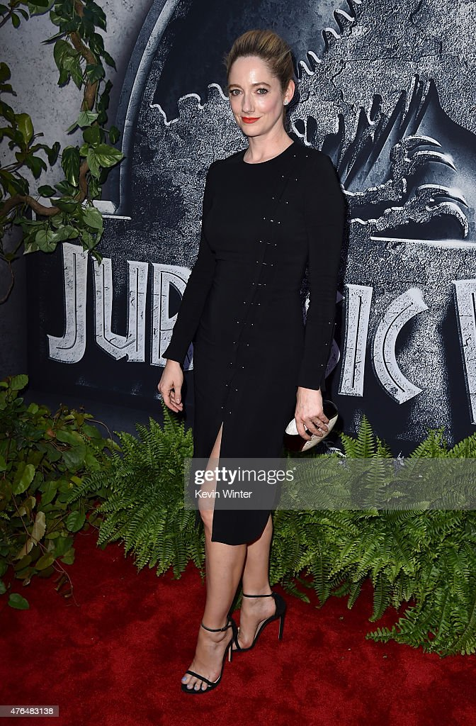 Actress <a gi-track='captionPersonalityLinkClicked' href=/galleries/search?phrase=Judy+Greer&family=editorial&specificpeople=214752 ng-click='$event.stopPropagation()'>Judy Greer</a> attends the Universal Pictures' 'Jurassic World' premiere at the Dolby Theatre on June 9, 2015 in Hollywood, California.