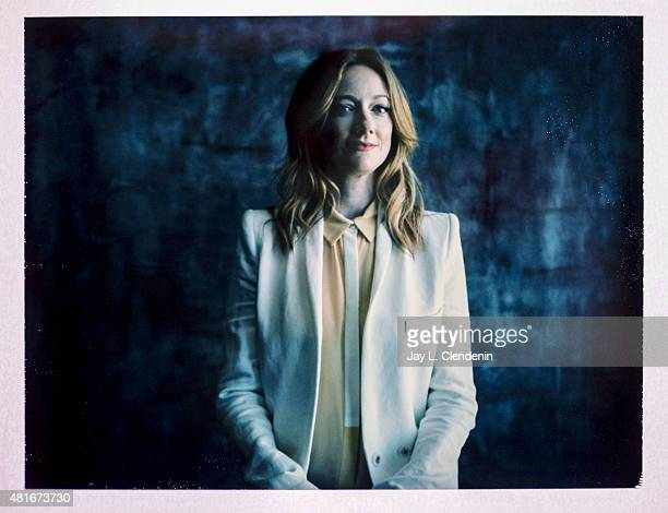 Actress Judy Greer of 'Archer' is photographed on polaroid film at ComicCon International 2015 for Los Angeles Times on July 9 2015 in San Diego...