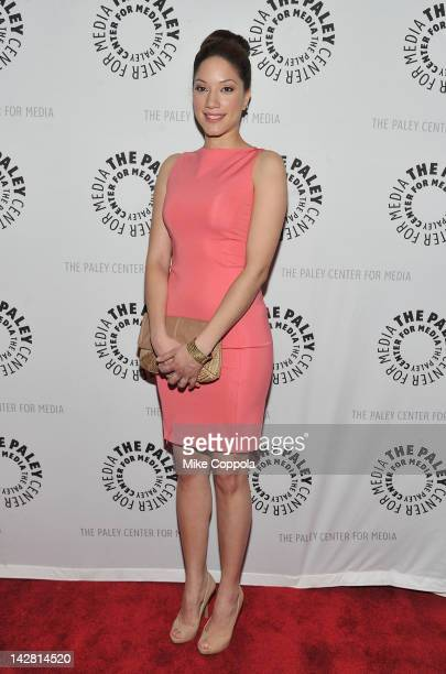 Actress Judy Marte attends The Paley Center For Media Presents New York Premiere Of 'NYC 22' at Paley Center For Media on April 12 2012 in New York...