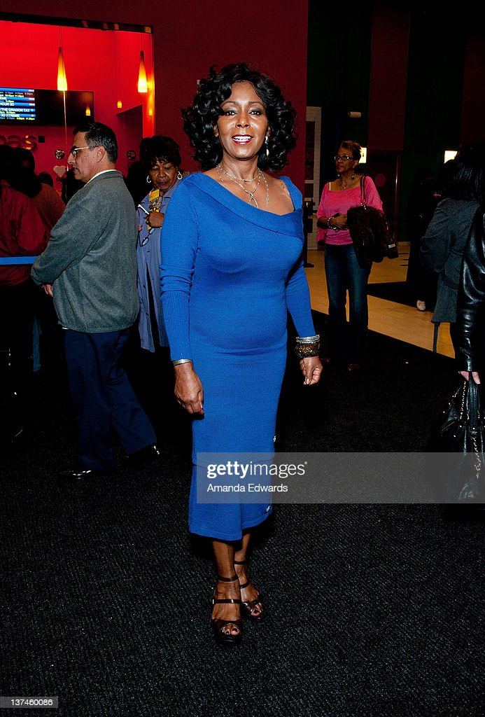 Actress Judy Pace attends the 'Red Tails' VIP opening night screening at Rave Baldwin Hills 15 Theatres on January 20 2012 in Los Angeles California