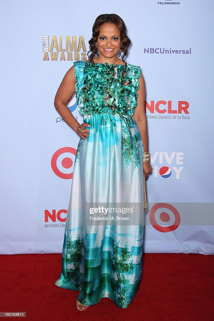 Actress Judy Reyes arrives at the 2012 NCLR ALMA Awards at Pasadena Civic Auditorium on September 16, 2012 in Pasadena, California.