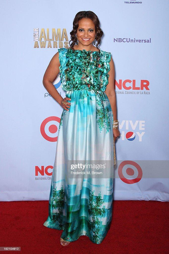 Actress Judy Reyes arrives at the 2012 NCLR ALMA Awards at Pasadena Civic Auditorium on September 16, 2012 in Pasadena, California.