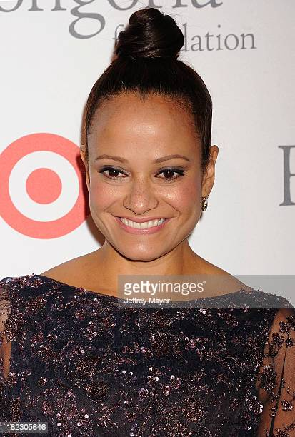 Actress Judy Reyes arrives at the Eva Longoria Foundation Dinner at Beso restaurant on September 28 2013 in Hollywood California