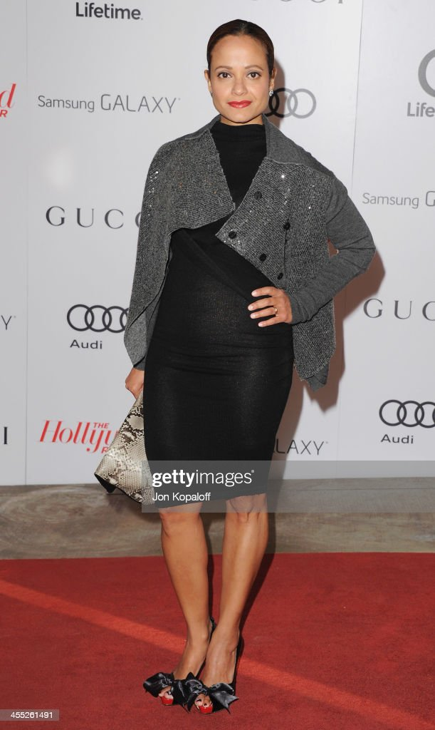Actress <a gi-track='captionPersonalityLinkClicked' href=/galleries/search?phrase=Judy+Reyes&family=editorial&specificpeople=241209 ng-click='$event.stopPropagation()'>Judy Reyes</a> arrives at The Hollywood Reporter's 22nd Annual Women In Entertainment Breakfast 2013 at Beverly Hills Hotel on December 11, 2013 in Beverly Hills, California.