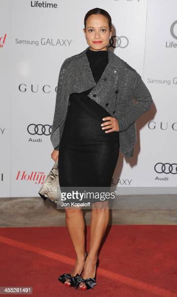 Actress Judy Reyes arrives at The Hollywood Reporter's 22nd Annual Women In Entertainment Breakfast 2013 at Beverly Hills Hotel on December 11 2013...