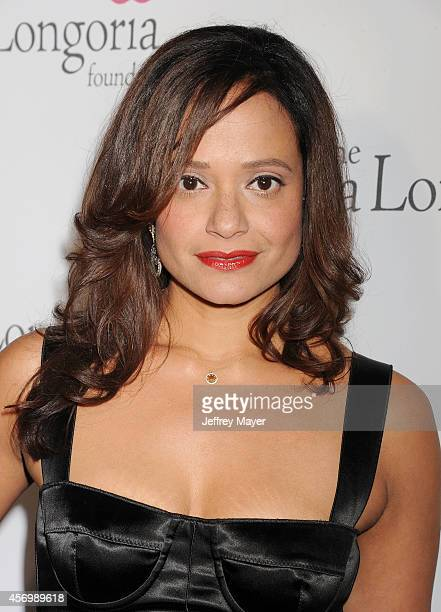 Actress Judy Reyes attends Eva Longoria's Foundation dinner at Beso on October 9 2014 in Hollywood California
