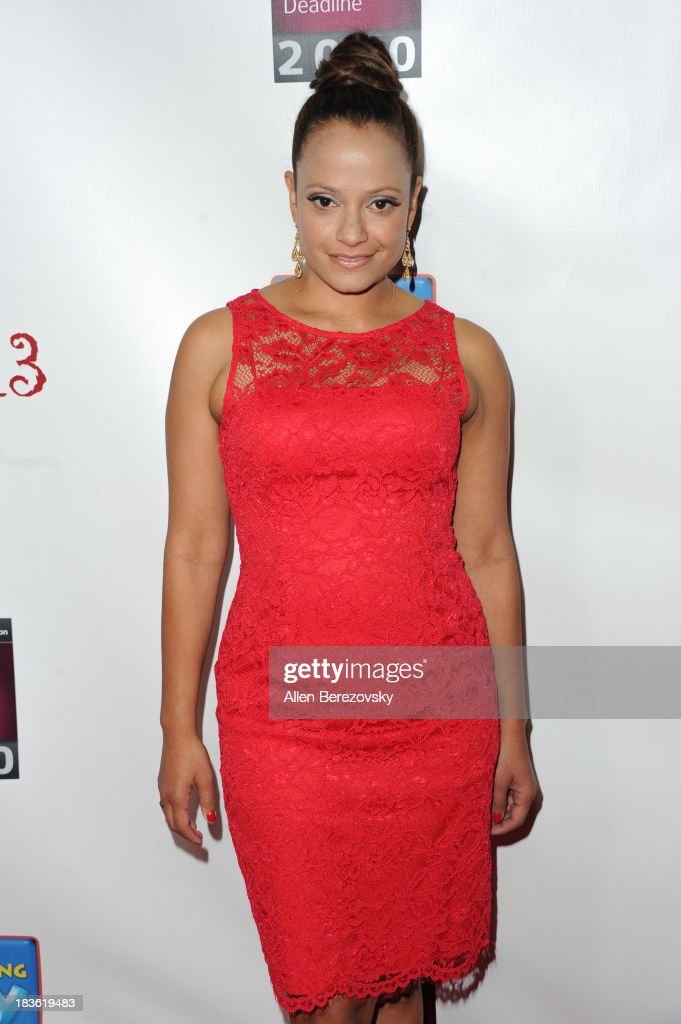 Actress <a gi-track='captionPersonalityLinkClicked' href=/galleries/search?phrase=Judy+Reyes&family=editorial&specificpeople=241209 ng-click='$event.stopPropagation()'>Judy Reyes</a> attends the 13th annual Les Girls benefiting the National Breast Cancer Coalition Fund at Avalon on October 7, 2013 in Hollywood, California.
