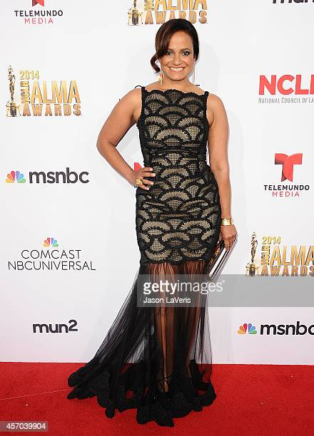 Actress Judy Reyes attends the 2014 NCLR ALMA Awards at Pasadena Civic Auditorium on October 10 2014 in Pasadena California