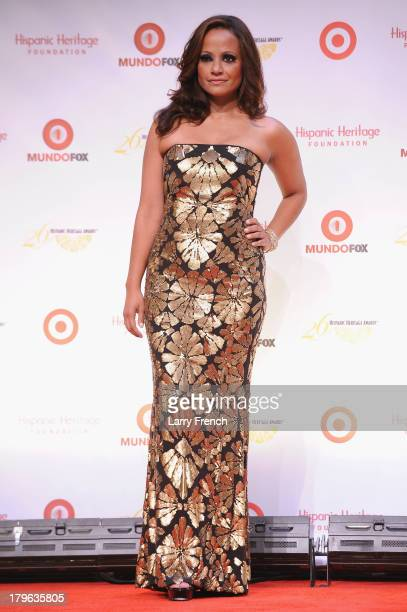Actress Judy Reyes attends the 26th Annual Hispanic Heritage Awards presented by Target at the John F Kennedy Center for the Performing Arts on...