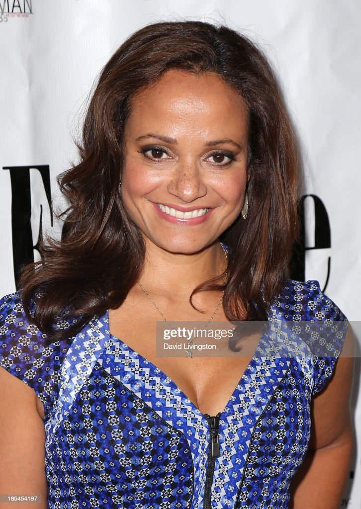 Actress <a gi-track='captionPersonalityLinkClicked' href=/galleries/search?phrase=Judy+Reyes&family=editorial&specificpeople=241209 ng-click='$event.stopPropagation()'>Judy Reyes</a> attends the 9th Annual LA Femme International Film Festival Awards Gala and Show at the Renberg Theatre on October 20, 2013 in Los Angeles, California.