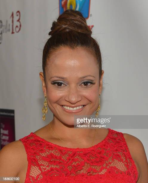 Actress Judy Reyes attends The National Breast Cancer Coalition Fund presents The 13th Annual Les Girls at the Avalon on October 7 2013 in Hollywood...
