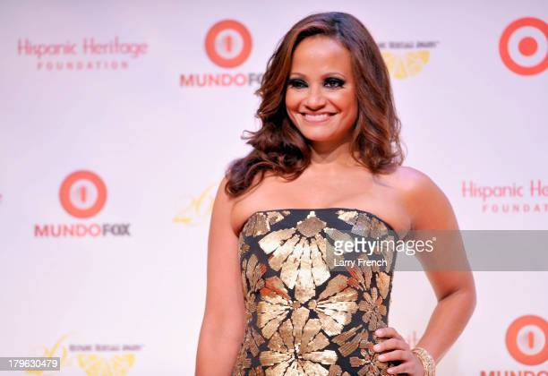 Actress Judy Reyes hosts the 26th Annual Hispanic Heritage Awards presented by Target at the John F Kennedy Center for the Performing Arts on...