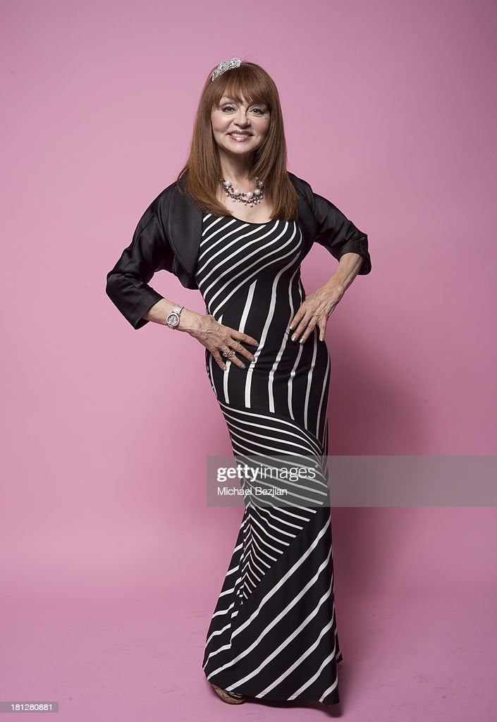 Actress <a gi-track='captionPersonalityLinkClicked' href=/galleries/search?phrase=Judy+Tenuta&family=editorial&specificpeople=585737 ng-click='$event.stopPropagation()'>Judy Tenuta</a> poses for portraits at the Mark Kearney Group - 'Iced Out' Luxury Emmy Suite on September 19, 2013 in Los Angeles, California.