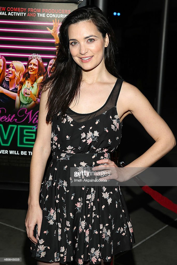 Actress Jules Willcox attends the premiere of Magnet's 'Best Night Ever' at ArcLight Cinemas on January 29, 2014 in Hollywood, California.