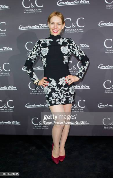 Actress Julia Dietze attends the Constantin film reception at Puro Lounge during the 63rd Berlinale International film Festival on February 10 2013...