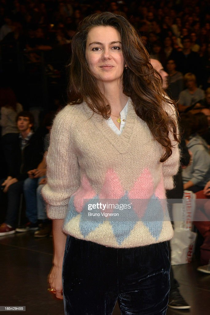 Actress Julia Faure attends the closing ceremony of 'Lumiere 2013, Grand Lyon Film Festival' on October 20, 2013 in Lyon, France.