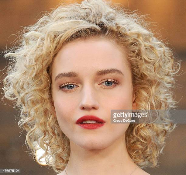 Actress Julia Garner arrives at the 2015 Los Angeles Film Festival opening night premiere of 'Grandma' at Regal Cinemas LA Live on June 10 2015 in...