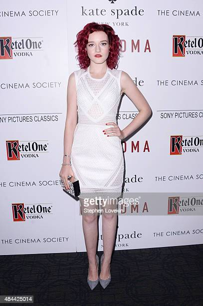 Actress Julia Garner attends a screening of Sony Pictures Classics' 'Grandma' hosted by The Cinema Society and Kate Spade at Landmark Sunshine Cinema...