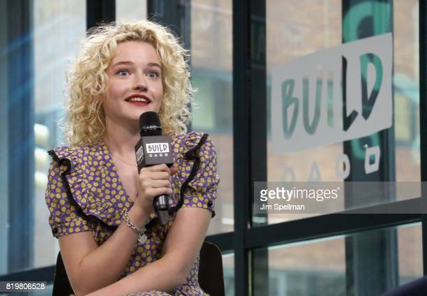 Actress Julia Garner attends Build to discuss 'Ozark' at Build Studio on July 20 2017 in New York City