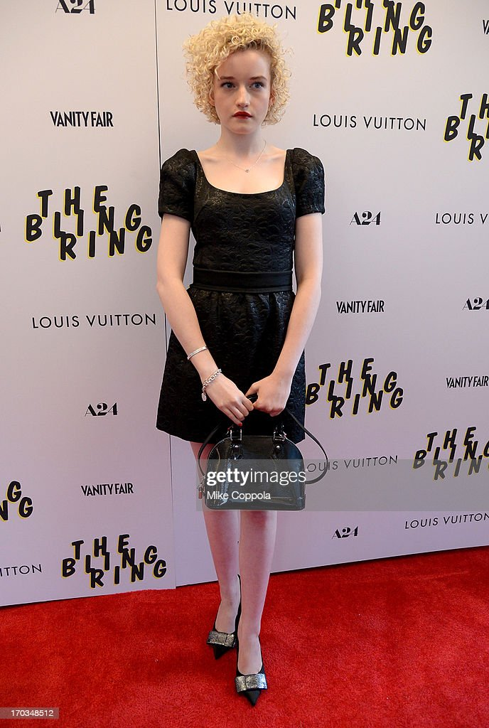Actress Julia Garner attends 'The Bling Ring' screening at Paris Theatre on June 11, 2013 in New York City.