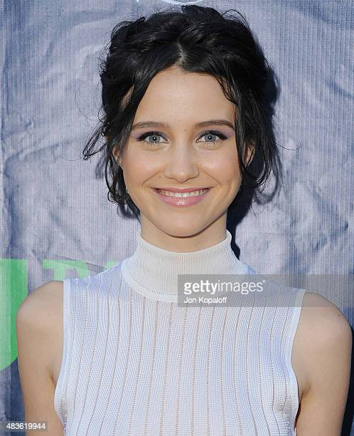 Actress Julia Goldani Telles arrives at CBS CW And Showtime 2015 Summer TCA Party at Pacific Design Center on August 10 2015 in West Hollywood...