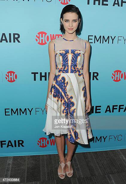 Actress Julia Goldani Telles arrives at the screening of Showtime's 'The Affair' at Samuel Goldwyn Theater on May 6 2015 in Beverly Hills California