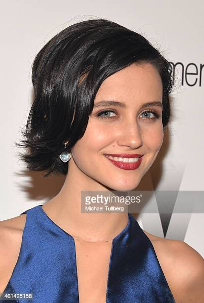 Actress Julia Goldani Telles attends the 2015 Weinstein Company and Netflix Golden Globes After Party on January 11 2015 in Beverly Hills California