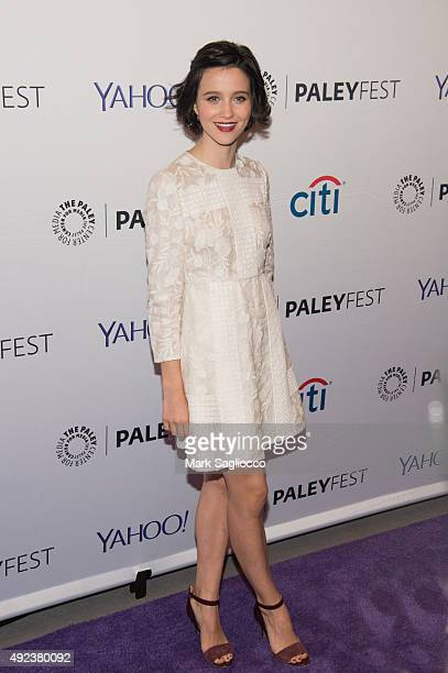 Actress Julia Goldani Telles attends the PaleyFest New York 2015 screening of 'The Affair' at The Paley Center for Media on October 12 2015 in New...