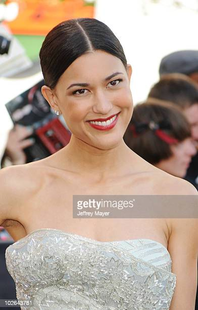 Actress Julia Jones arrives at the 'The Twilight Saga Eclipse' Los Angeles Premiere at Nokia Theatre LA Live on June 24 2010 in Los Angeles California