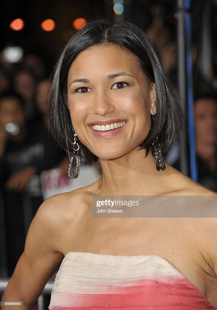 Actress Julia Jones arrives at 'The Twilight Saga New Moon' premiere held at the Mann Village Theatre on November 16 2009 in Westwood California