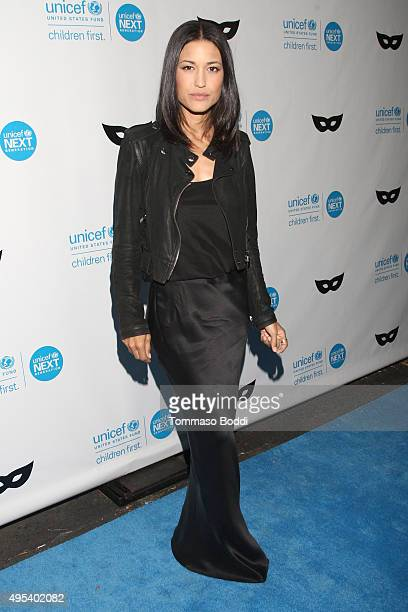 Actress Julia Jones at the UNICEF Next Generation Third Annual UNICEF Black White Masquerade Ball benefiting UNICEF's lifesaving programs including...