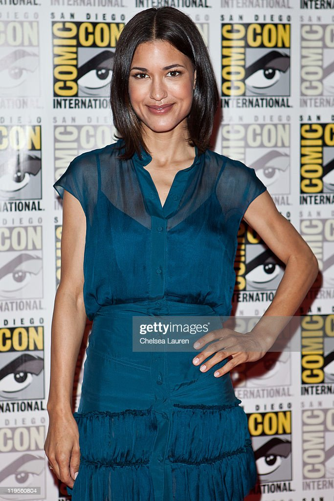 Actress Julia Jones attends 2011 ComicCon International Day 1 at San Diego Convention Center on July 21 2011 in San Diego California