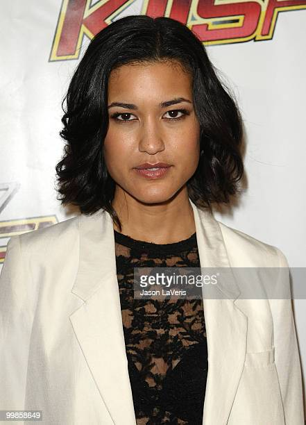 Actress Julia Jones attends KIIS FM's 2010 Wango Tango Concert at Staples Center on May 15 2010 in Los Angeles California