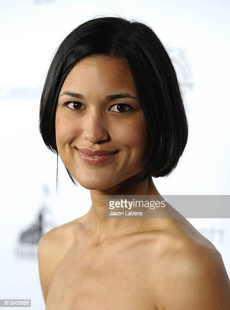 Actress Julia Jones attends The Art of Elysium's Genesis event at HD Buttercup on October 10 2009 in Los Angeles California