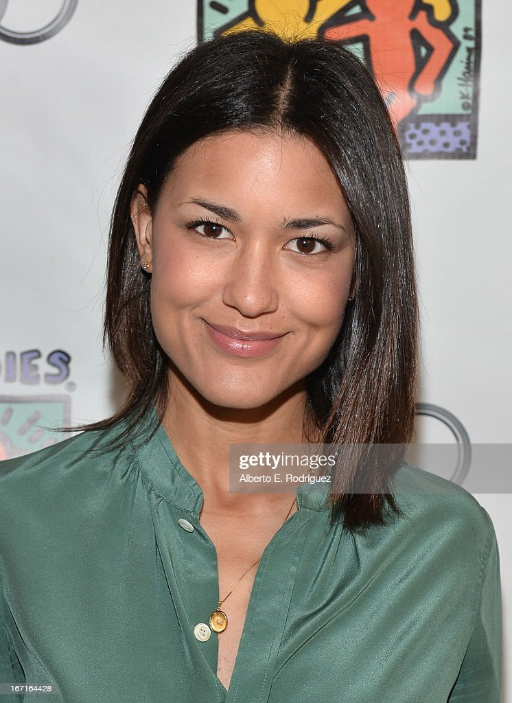 Actress Julia Jones attends the Best Buddies' Bowling For Buddies Event at Lucky Strike Lanes at LA Live on April 21 2013 in Los Angeles California