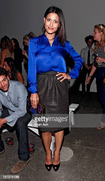 Actress Julia Jones attends the Honor spring 2013 fashion show during MercedesBenz Fashion Week at Eyebeam on September 6 2012 in New York City