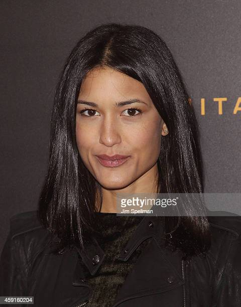 Actress Julia Jones attends 'The Imitation Game' New York Premiere at Ziegfeld Theater on November 17 2014 in New York City