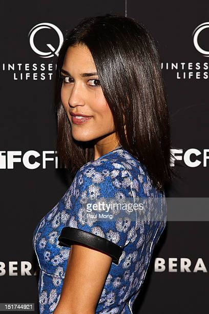 Actress Julia Jones attends the 'Liberal Arts' New York Screening at Landmark's Sunshine Cinema on September 10 2012 in New York City