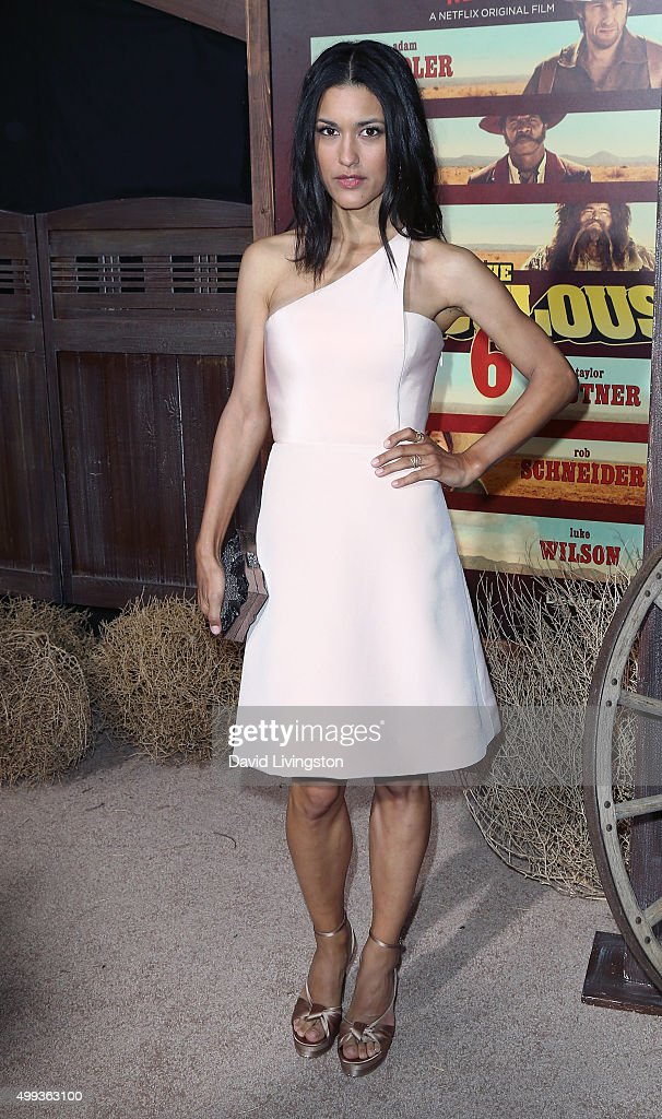 Actress Julia Jones attends the Los Angeles premiere of Netflix's 'The Ridiculous 6' at AMC Universal City Walk on November 30 2015 in Universal City...