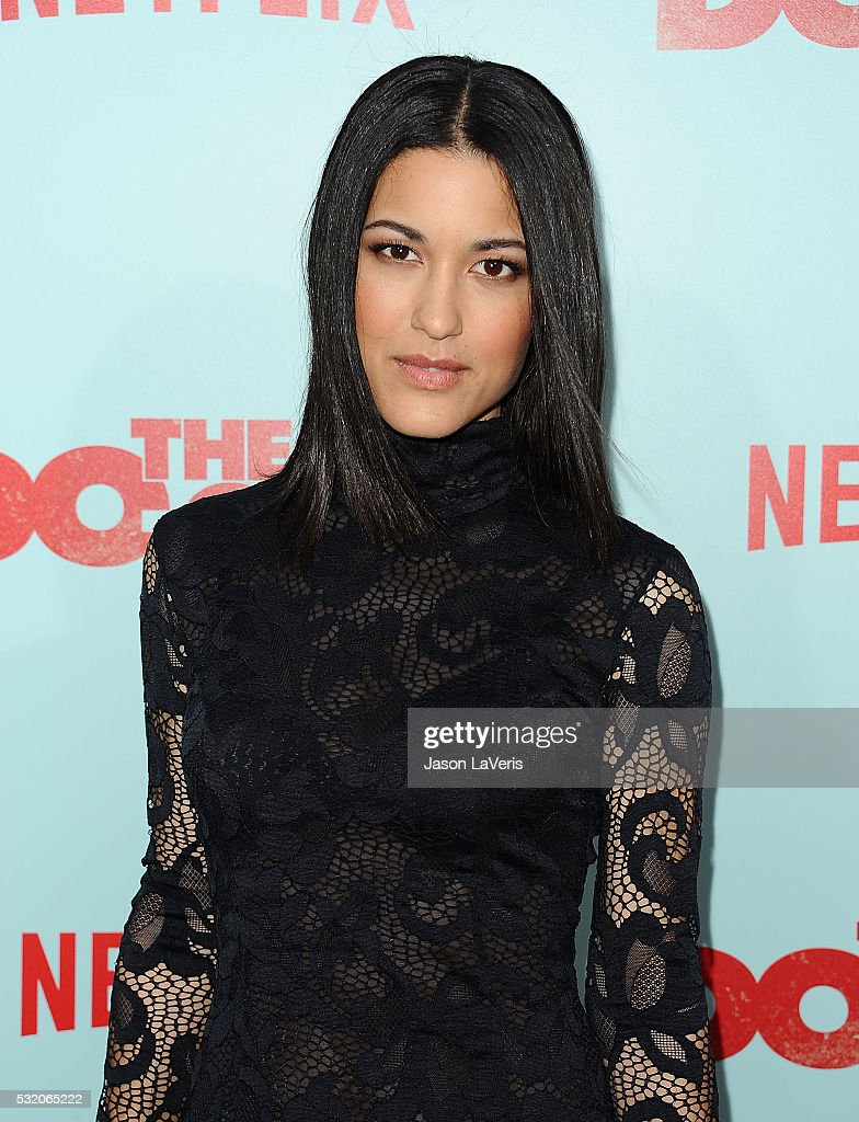 Actress Julia Jones attends the premiere of 'The Do Over' at Regal LA Live Stadium 14 on May 16 2016 in Los Angeles California